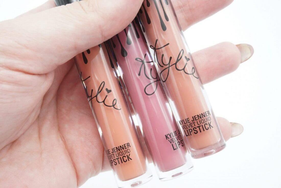 Kylie Cosmetics Velvet Liquid Lipstick Swatches & Review | Low Key, Boy Bye and Savage ⋆ Beautymone