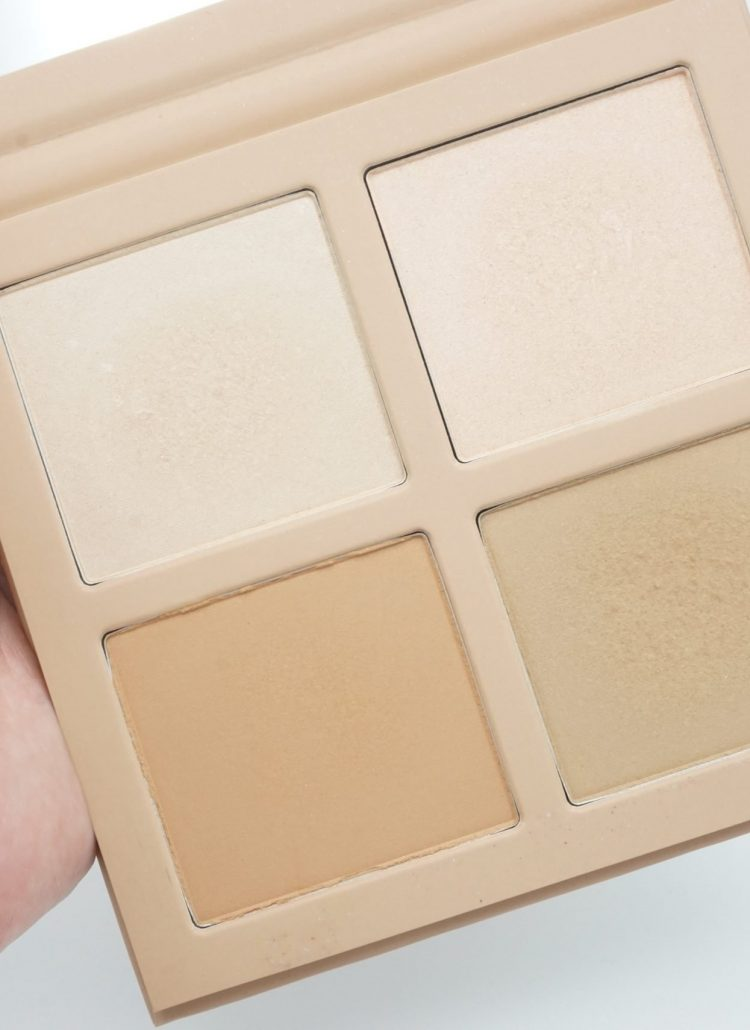 KKW Beauty Powder Contour and Highlight Kit | Review
