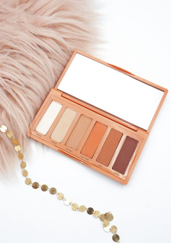 URBAN DECAY NAKED PETITE HEAT PALETTE REVIEW