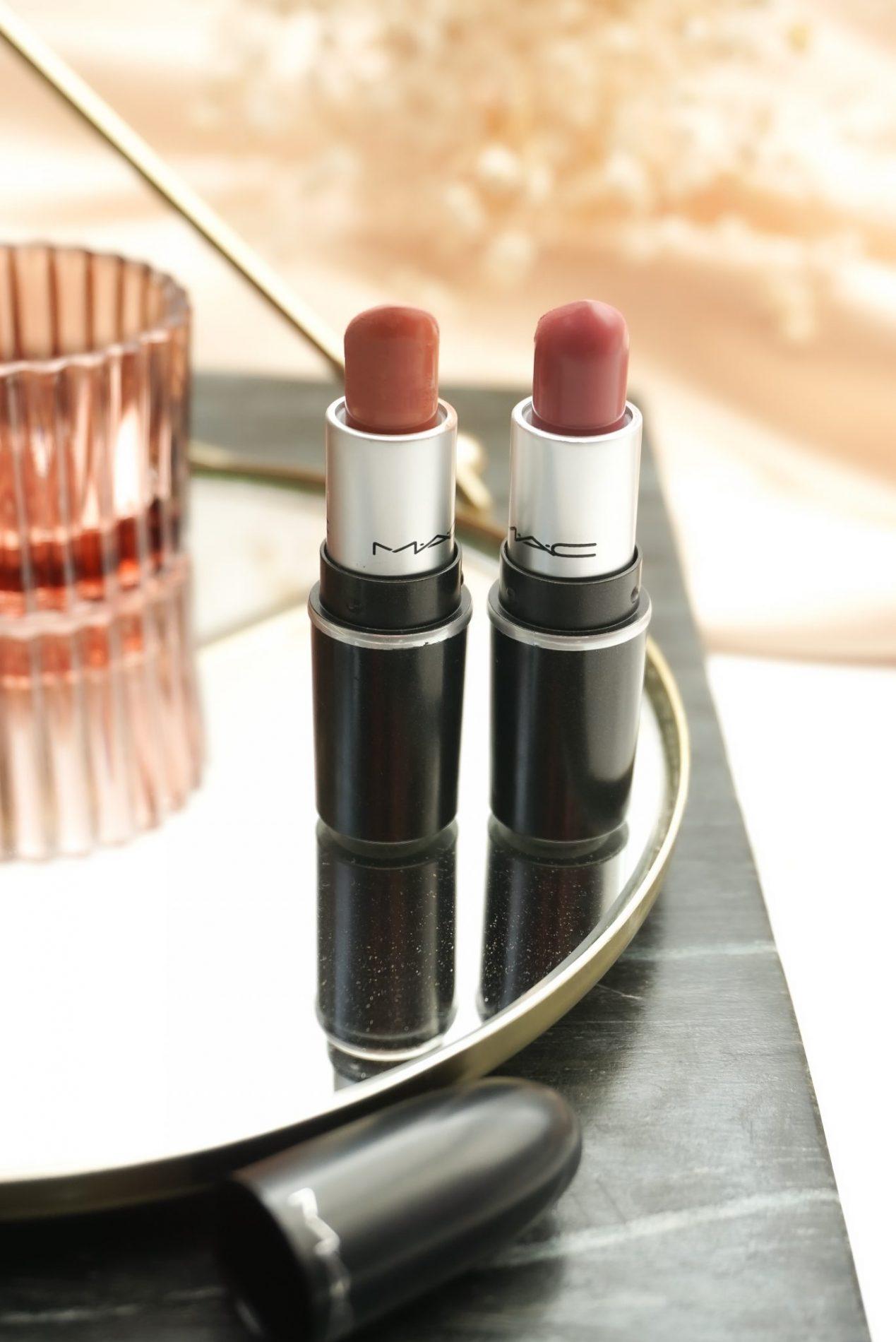 2 Best-Selling MAC Cosmetics Lipsticks In A Mini MAC Lipsticks Version Review