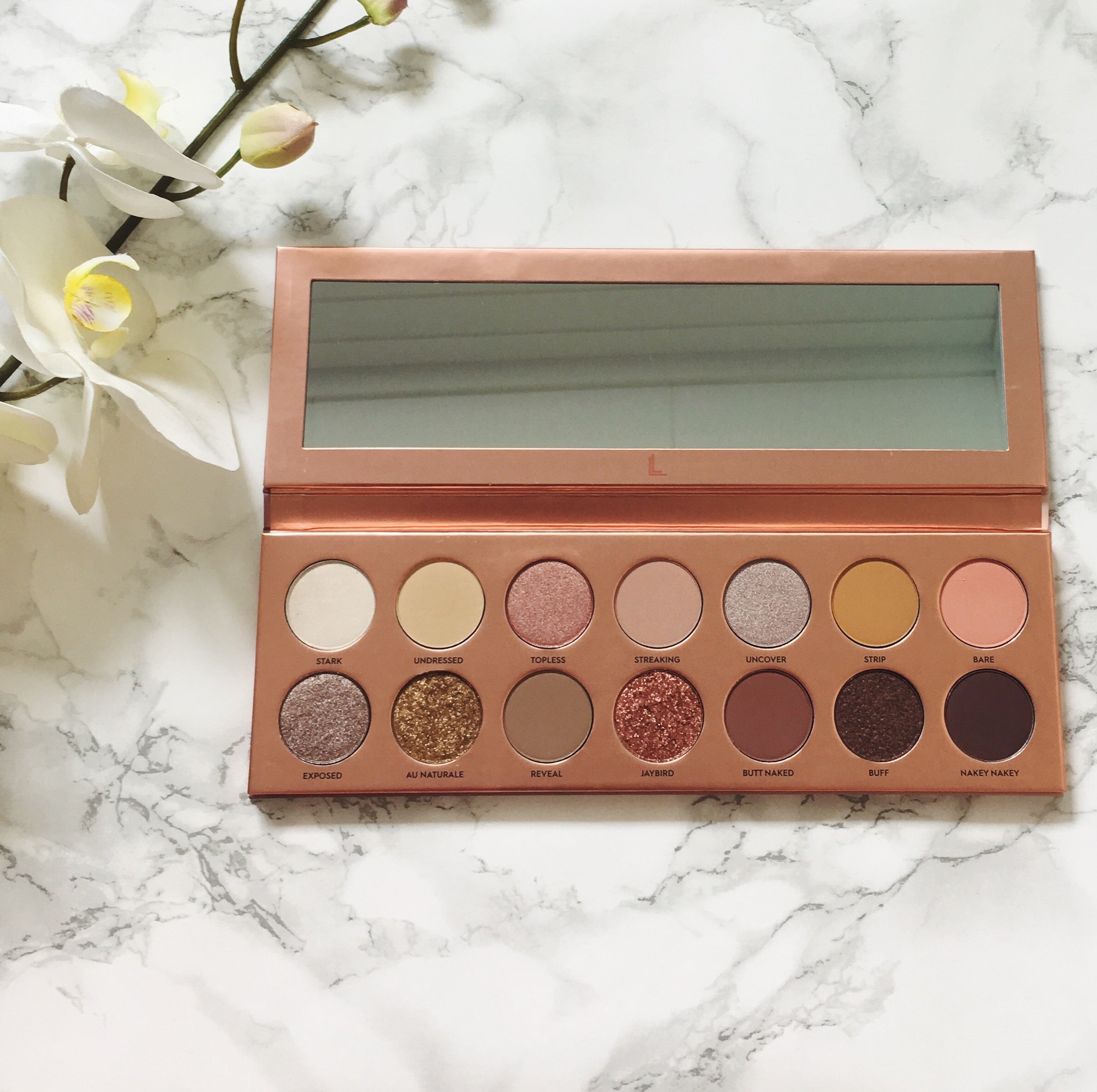 Laura Lee Los Angeles Nudie Patootie Palette | Review ⋆ Beautymone