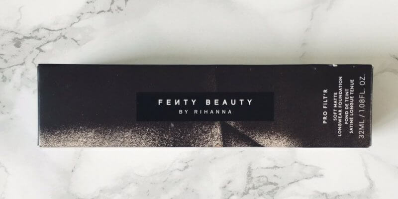 Fenty Beauty Pro Filt'r Soft Matte Longwear Foundation | Review ⋆ Beautymone