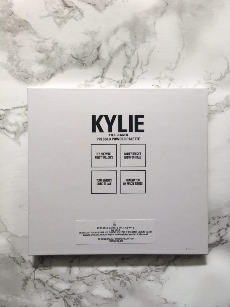Kylie Cosmetics The Kris Collection | Review ⋆ Beautymone