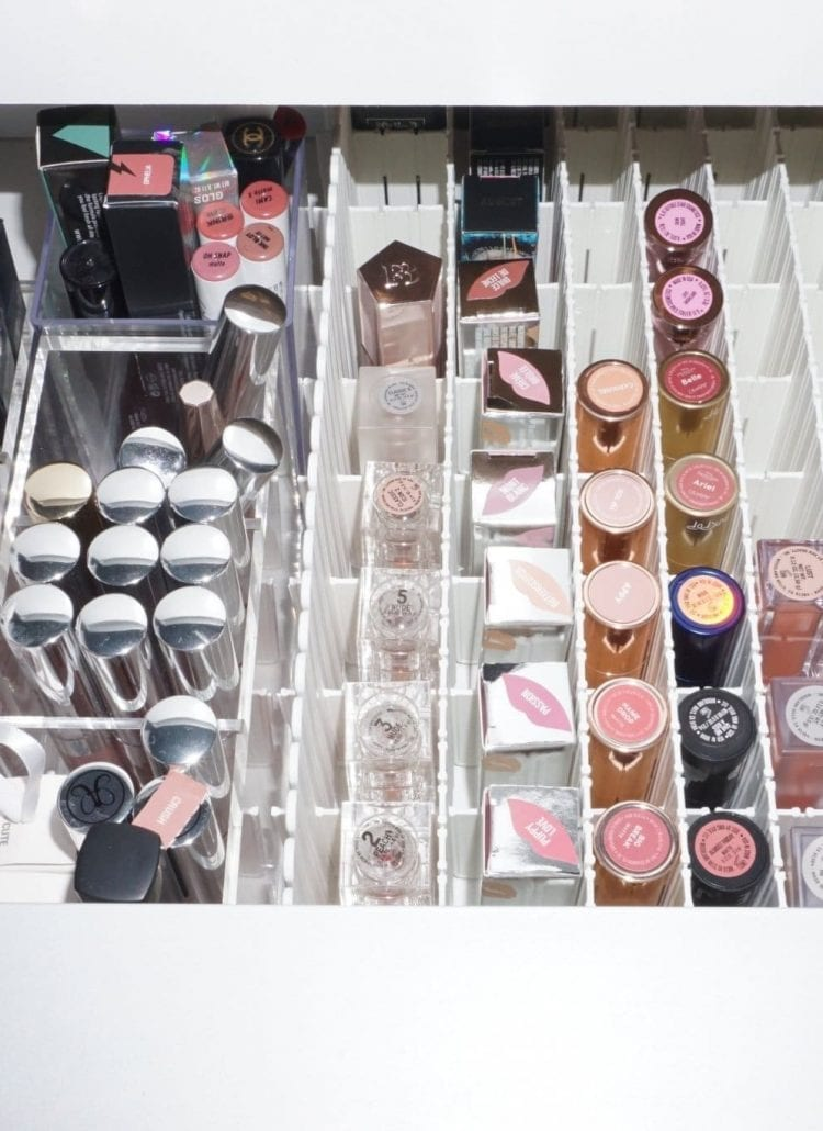 Organizing My Makeup Collection Part 2 | Lipsticks Drawer