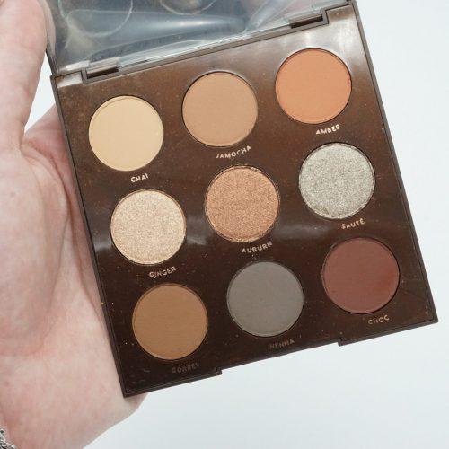 Colourpop Brown Sugar Eyeshadow Palette   Review