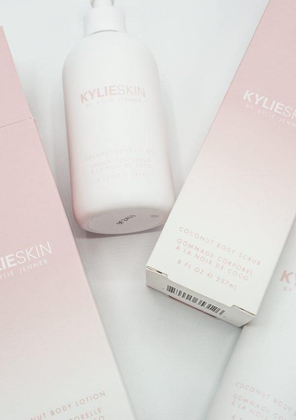 Kylie Skin Coconut Body Lotion and Body Scrub Review
