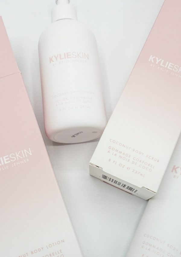 Kylie Skin Coconut Body Lotion and Body Scrub Review