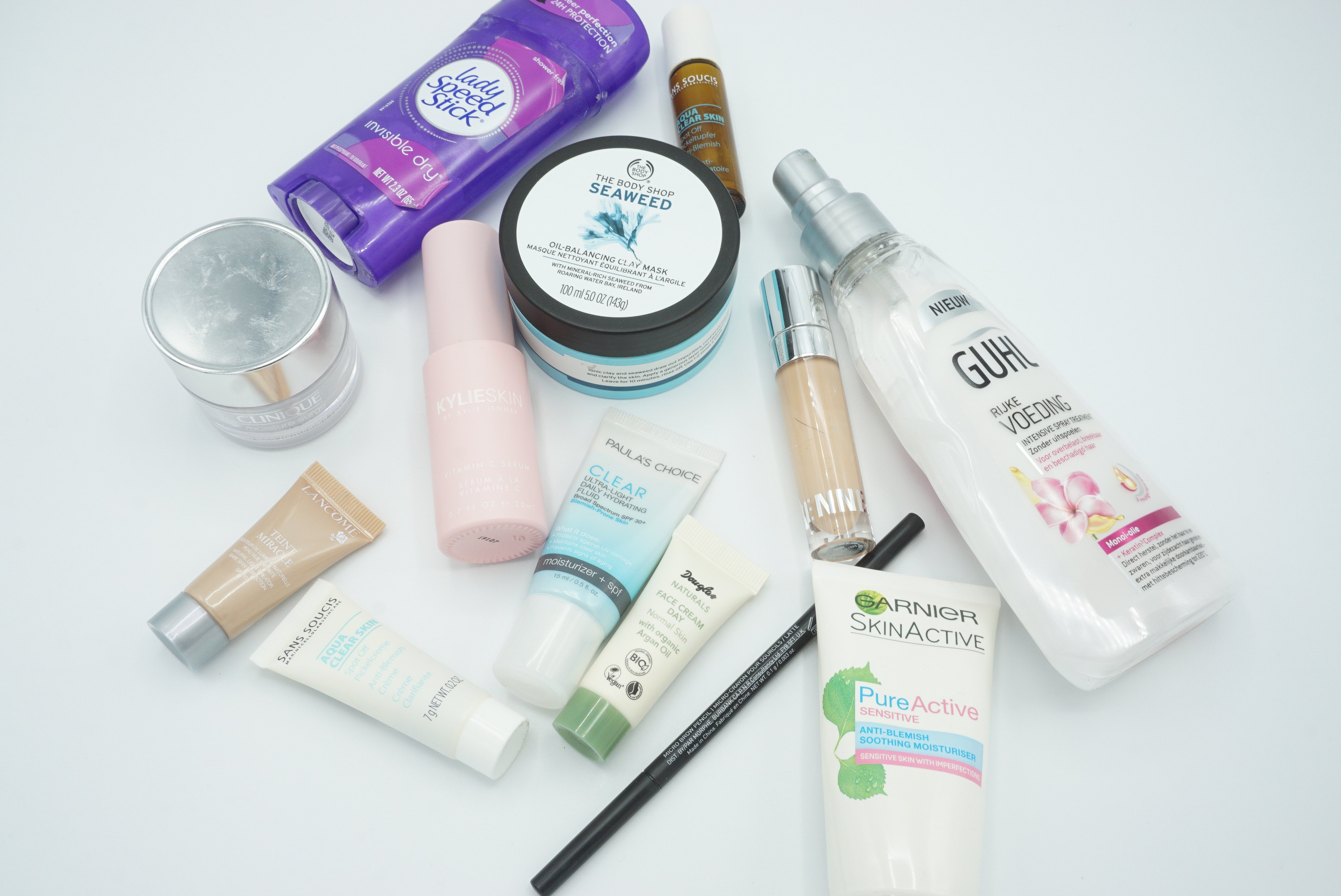 Decluttering Empty and Old Products