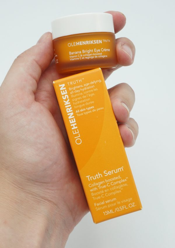 Ole Henriksen Banana Bright Eye Creme and Truth Serum