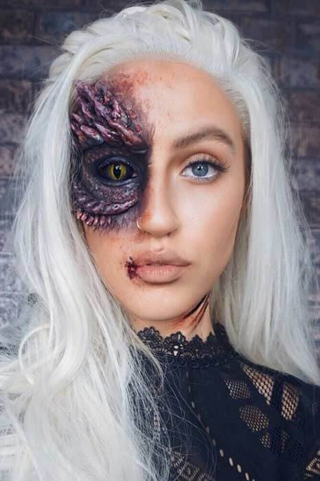 10 Amazing Halloween Makeup and Costume Ideas