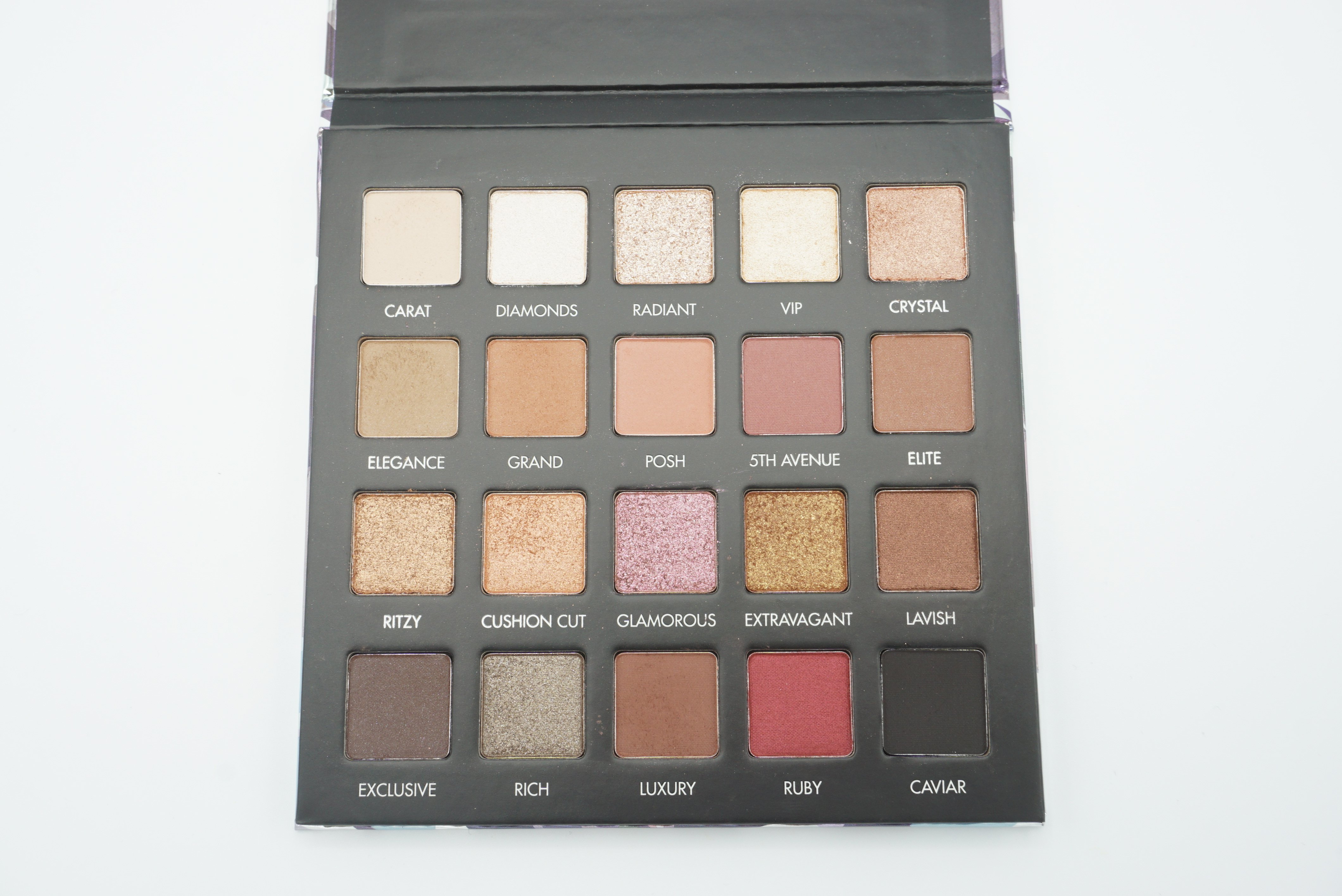 Lorac Cosmetics Lux Diamond Palette Review and Swatches