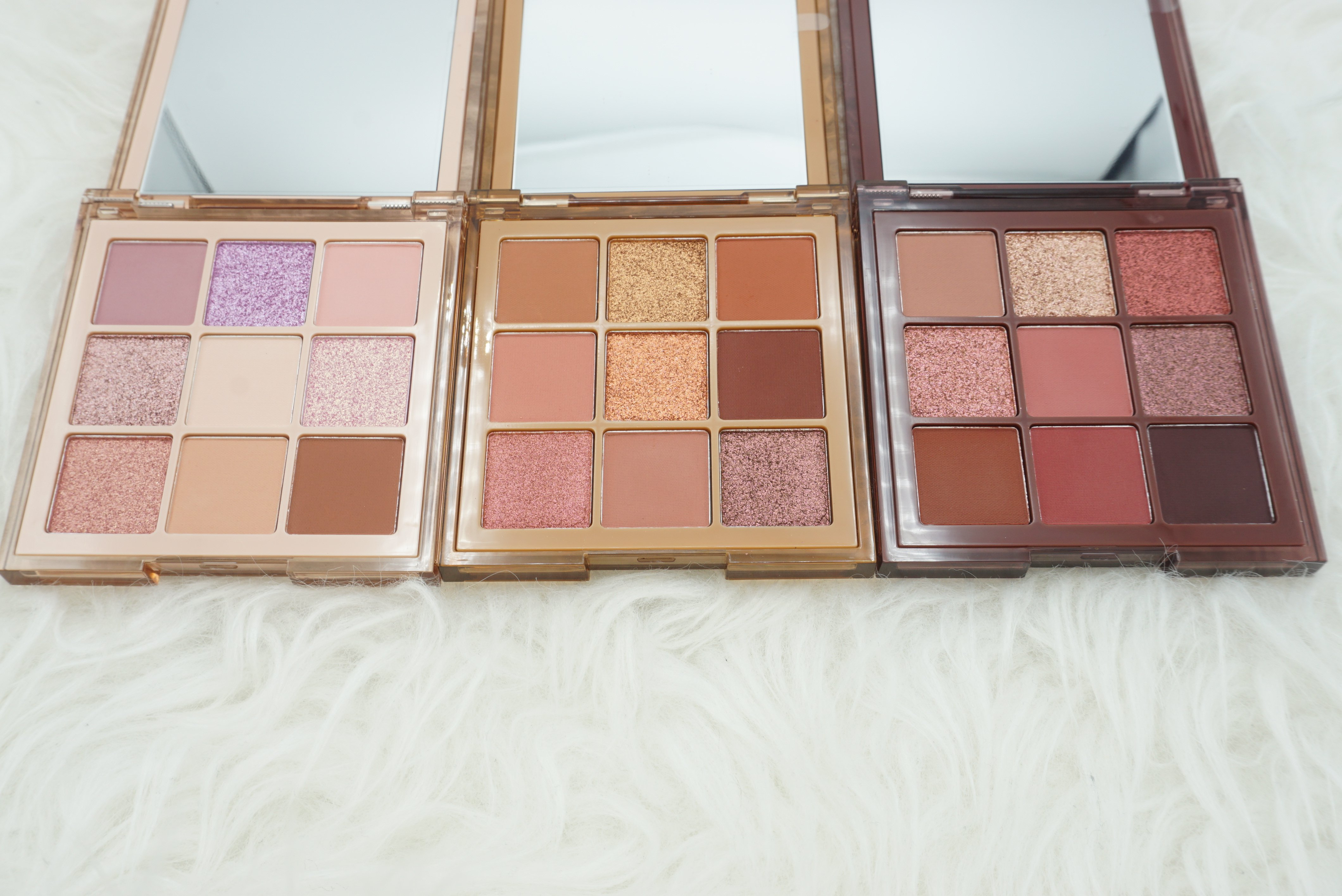Huda Beauty Nude Obsessions Palettes | All 3 palettes Review & Swatches