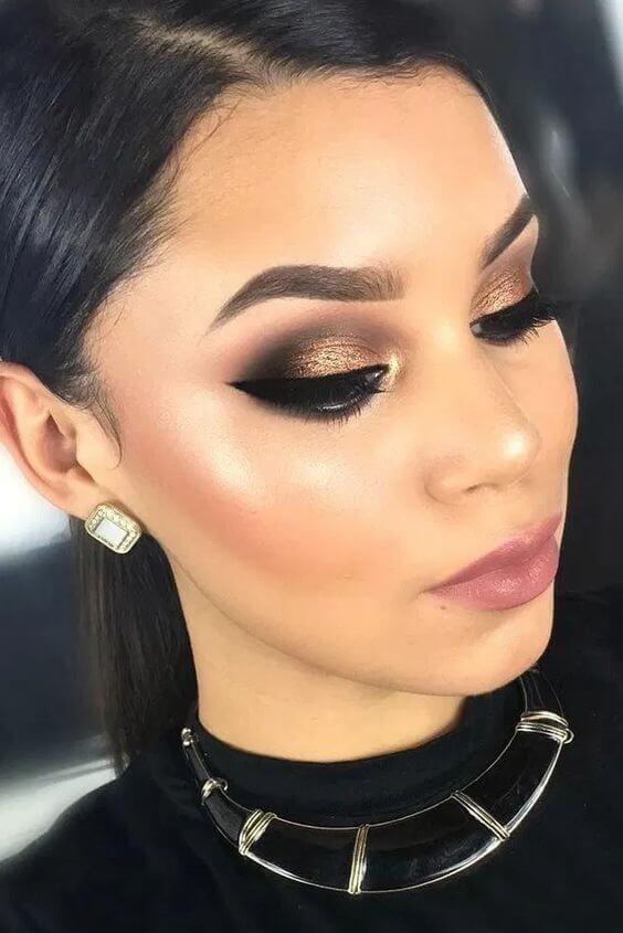 20 Gorgeous Christmas Makeup Ideas