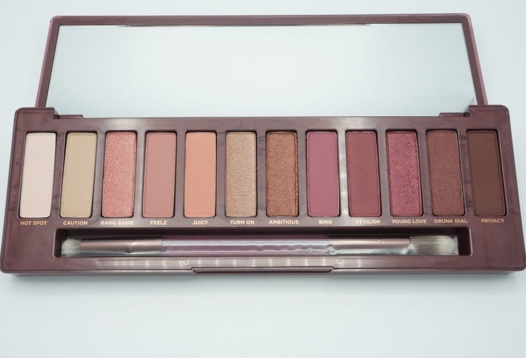 Urban Decay Naked Cherry Palette Review  Swatches -9164