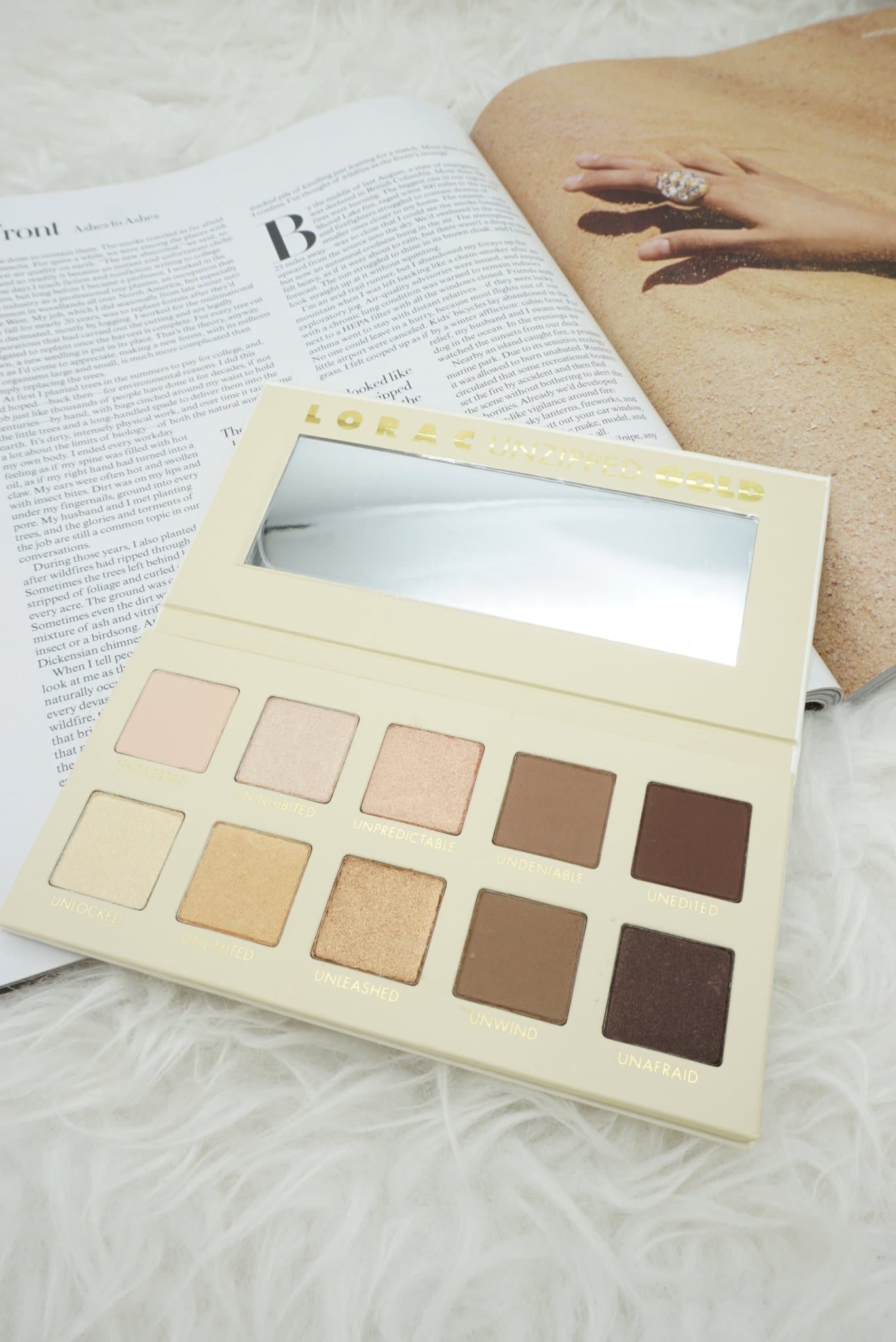 LORAC Cosmetics Unzipped and Unzipped Gold Palettes + more   Haul, Review, and Swatches