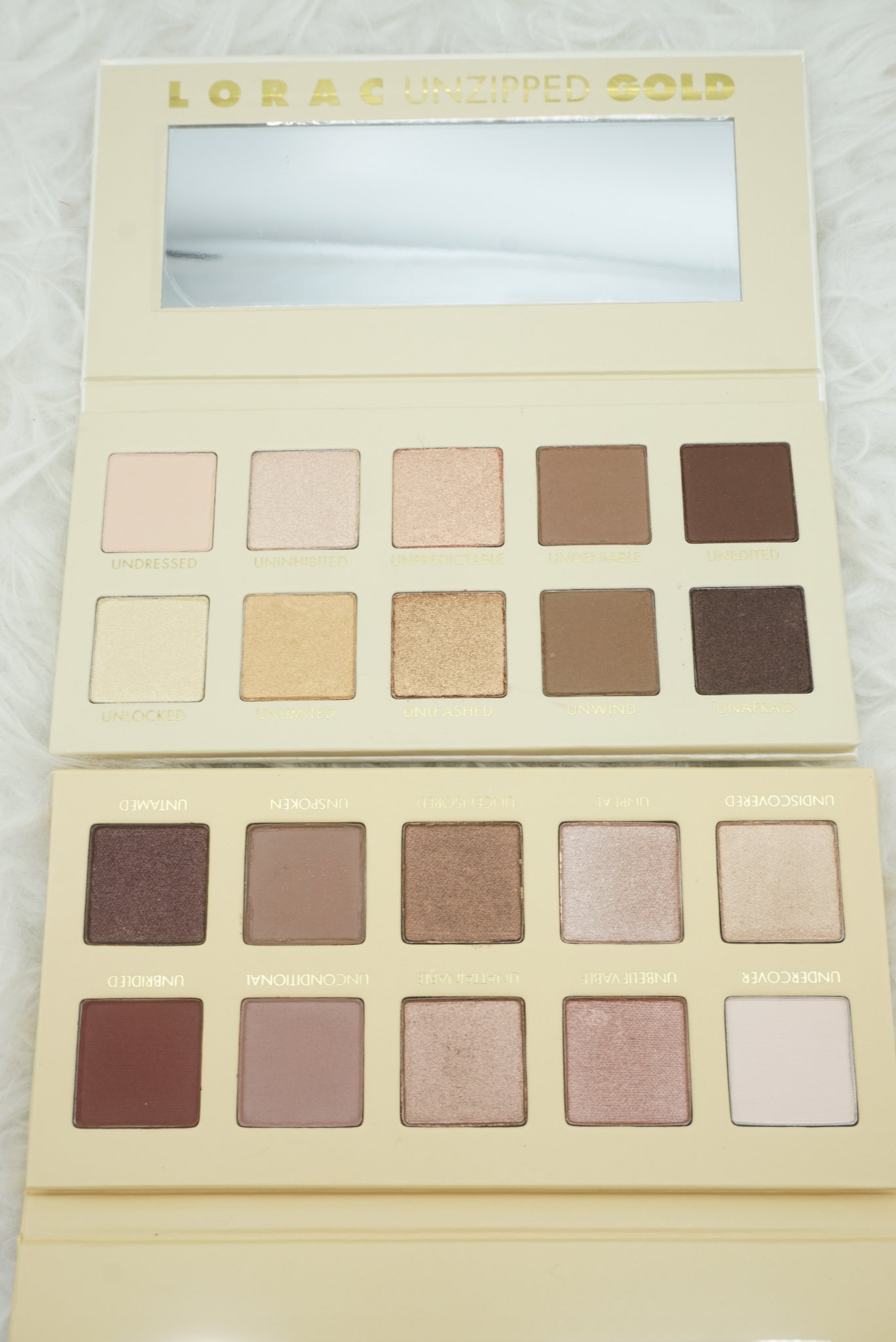 LORAC Cosmetics Unzipped and Unzipped Gold Palettes + more | Haul, Review, and Swatches