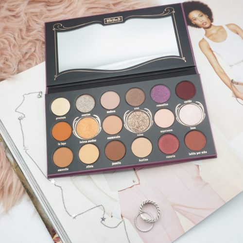 KVD VEGAN BEAUTY LOLITA POR VIDA EYESHADOW PALETTE REVIEW