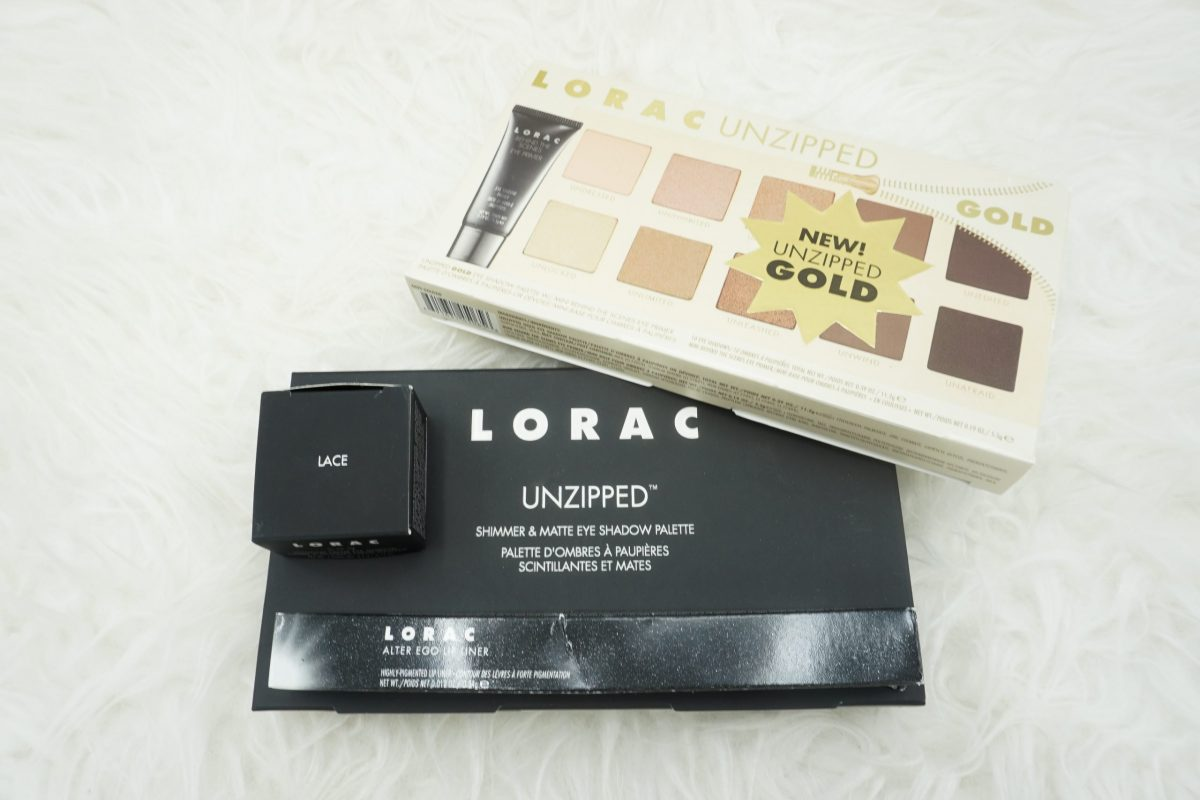 LORAC Cosmetics Unzipped and Unzipped Gold Palettes + more   Haul, Review, and Swatches ⋆ Beautymone