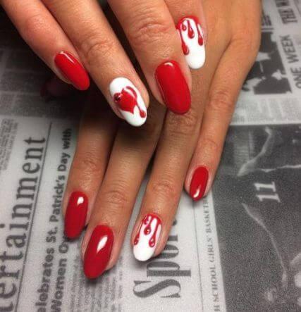 15 cute valentine nail designs ⋆ beautymone