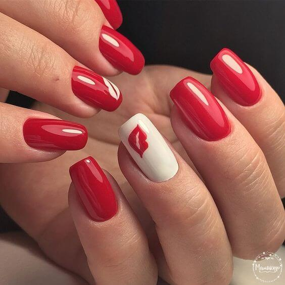 30 Absolutely Stunning Valentine Nails Ideas ⋆ Beautymone