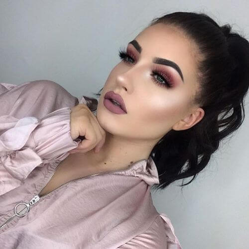 20 Stunning Valentine's Day Makeup Looks ⋆ Beautymone