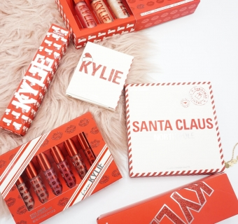 Christmassy Kylie Cosmetics Holiday 2019 Collection Review