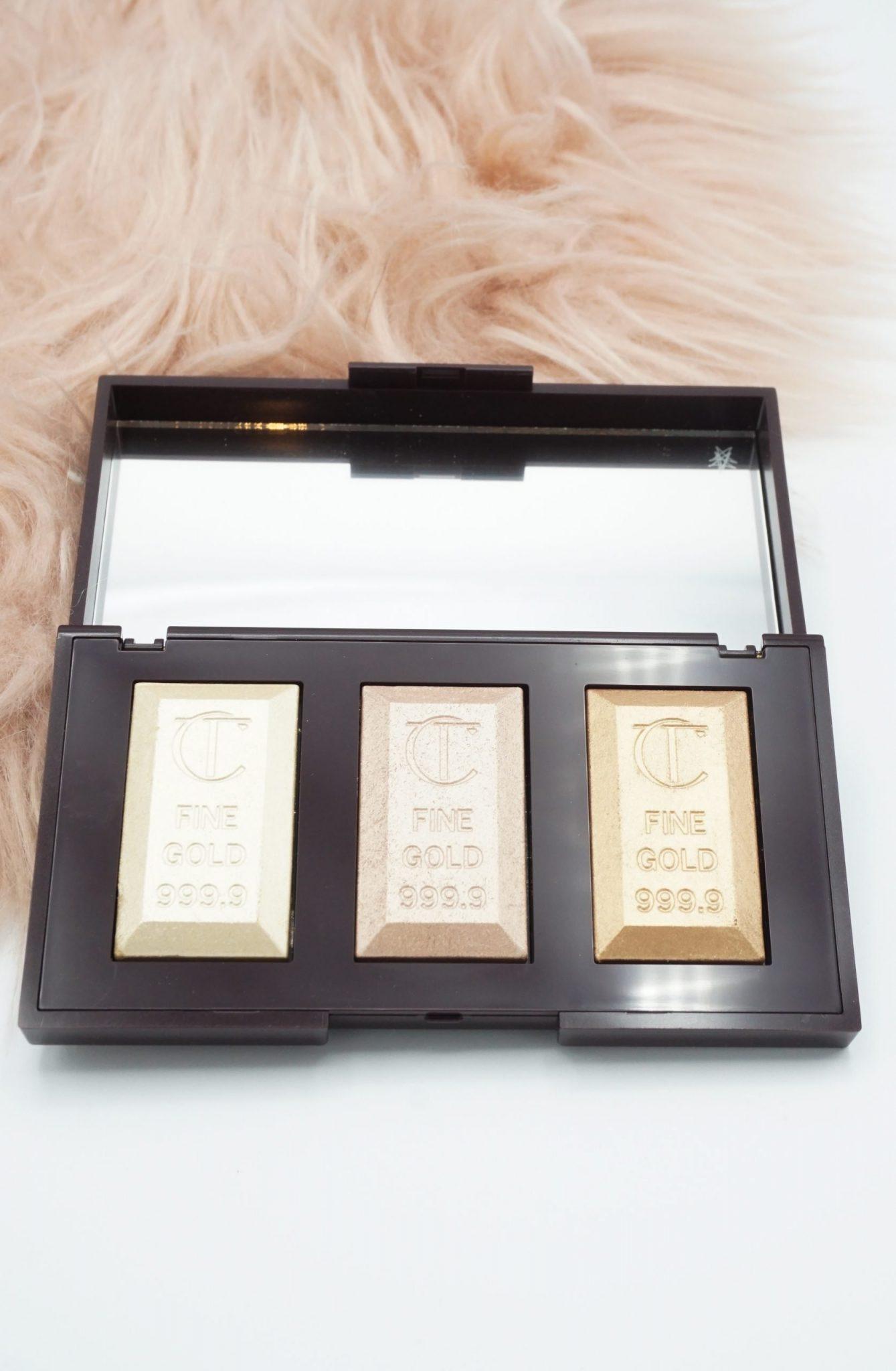 Charlotte Tilbury Bar Of Gold Highlighter Palette Review