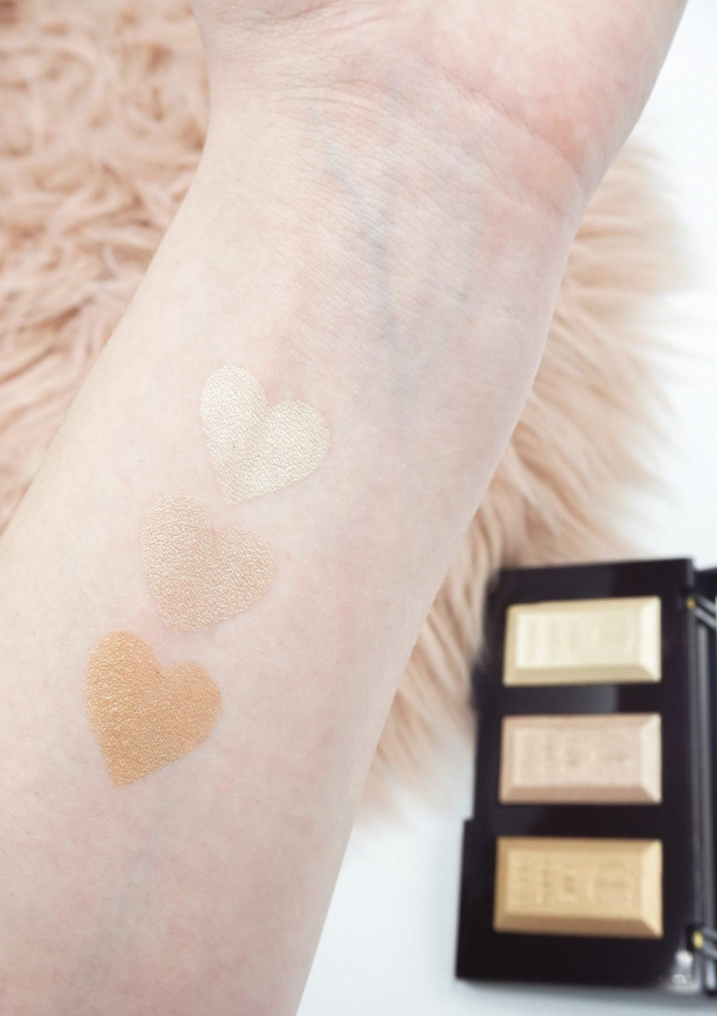 Charlotte Tilbury Bar Of Gold Highlighter Palette Review ⋆ Beautymone