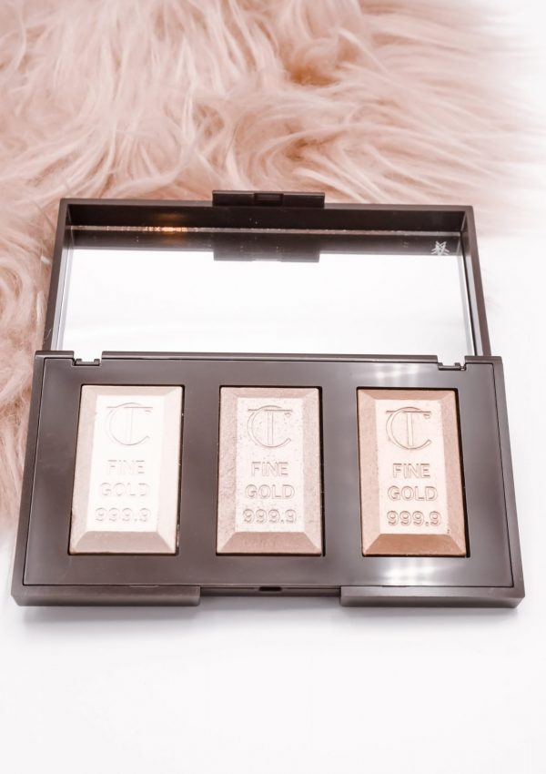 Charlotte Tilbury Bar Of Gold Highlighter Palette Review
