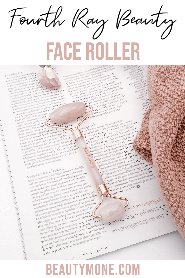 Fourth Ray Beauty Rose Quartz Face Roller Review ⋆ Beautymone