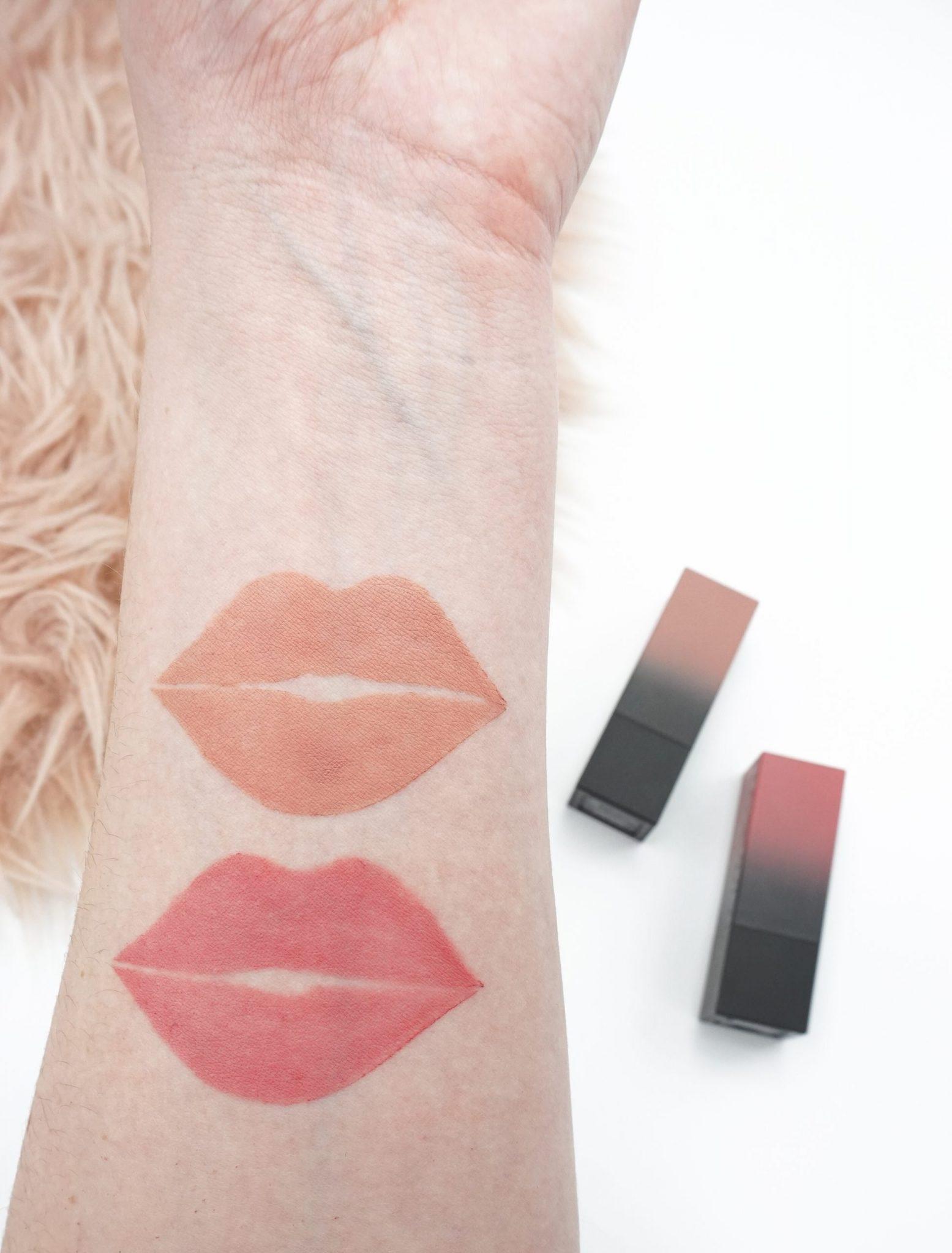 2 Pretty Huda Beauty Lipsticks Prom Night and Honeymoon ⋆ Beautymone