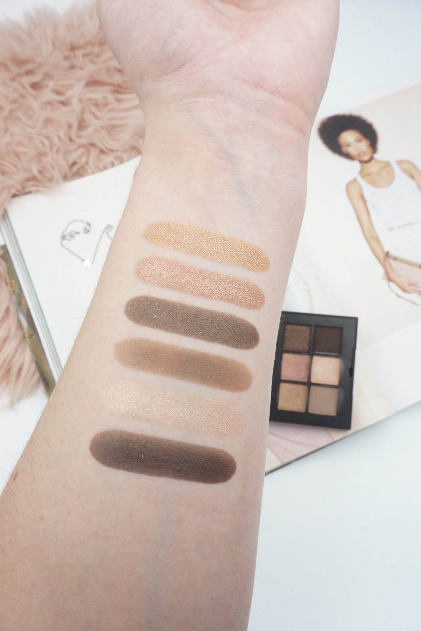 NARS Voyageur Eyeshadow Palette in Suede Review ⋆ Beautymone