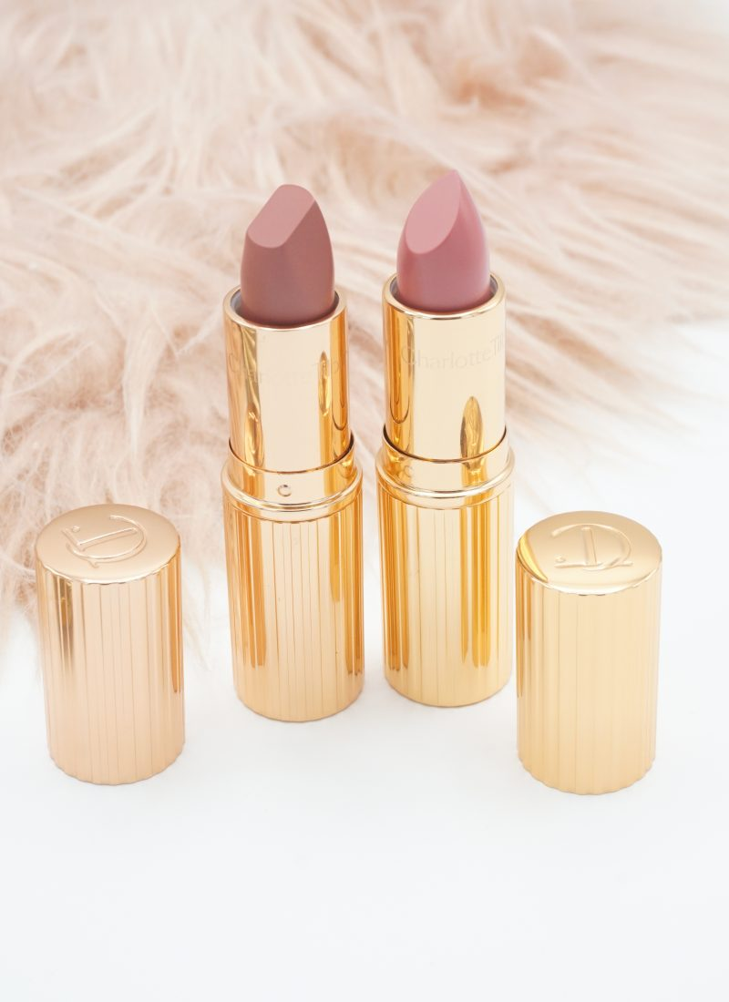 Charlotte Tilbury Pillow Talk and The Duchess Lipsticks