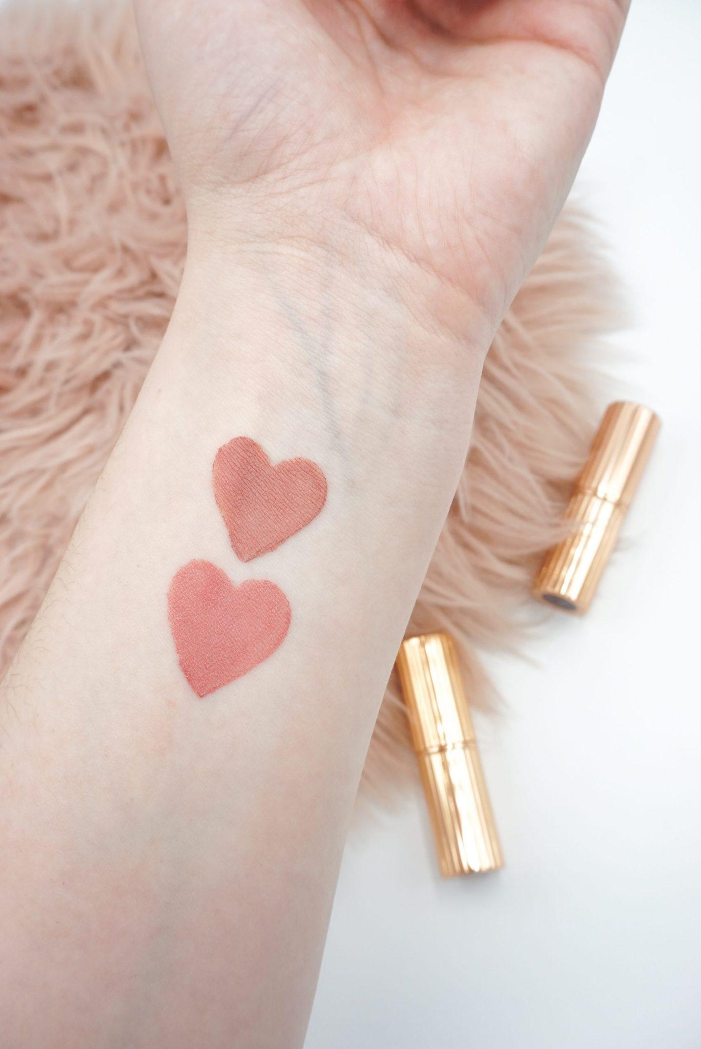 Charlotte Tilbury Pillow Talk and The Duchess Lipsticks Review ⋆ Beautymone