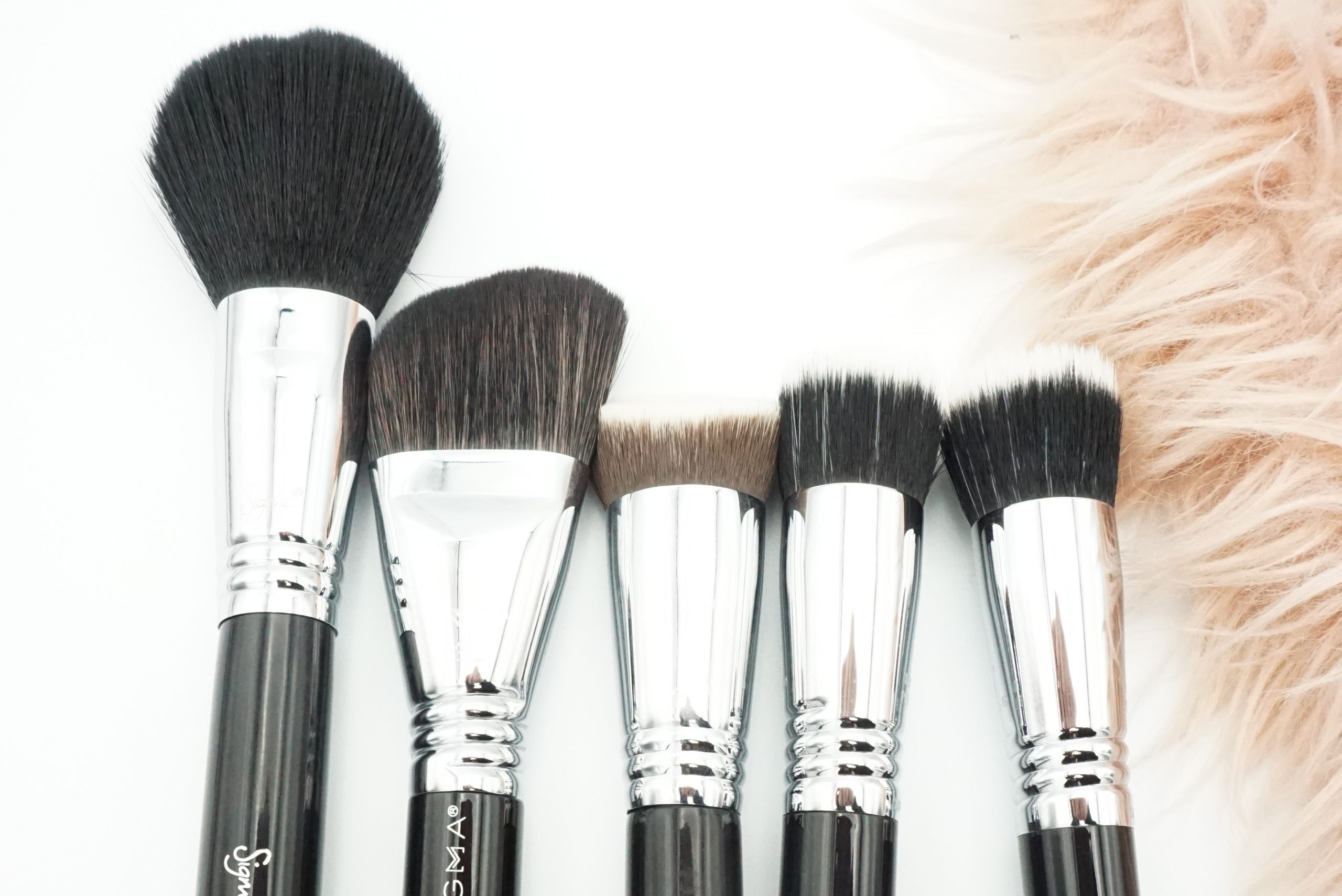 The Sigma Brushes I Own