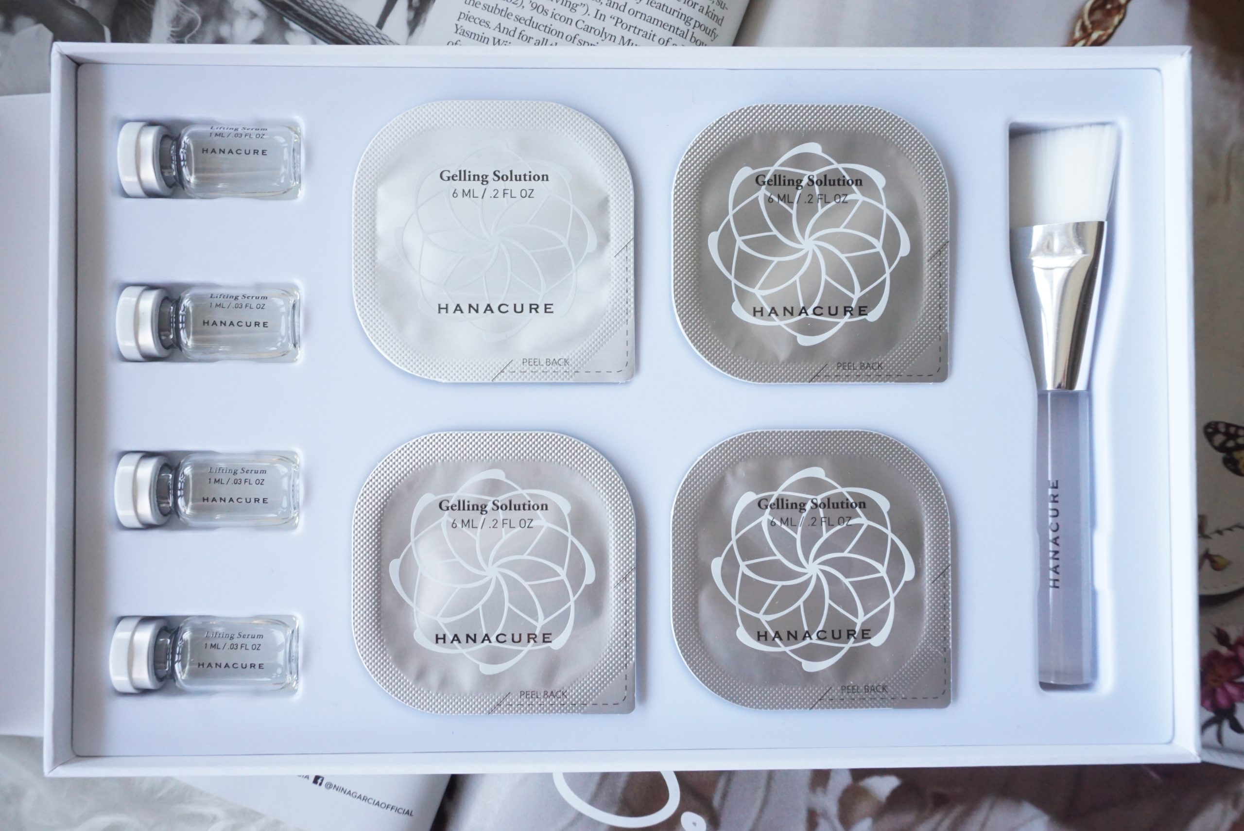 Testing Out The Innovative Skincare Brand Hanacure