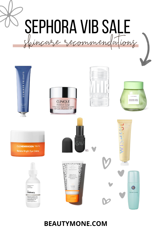20 Sephora VIB Sale Recommendations - Skincare
