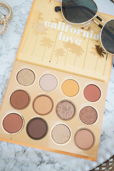 Colourpop California Love 12 Pan Eyeshadow Palette Review