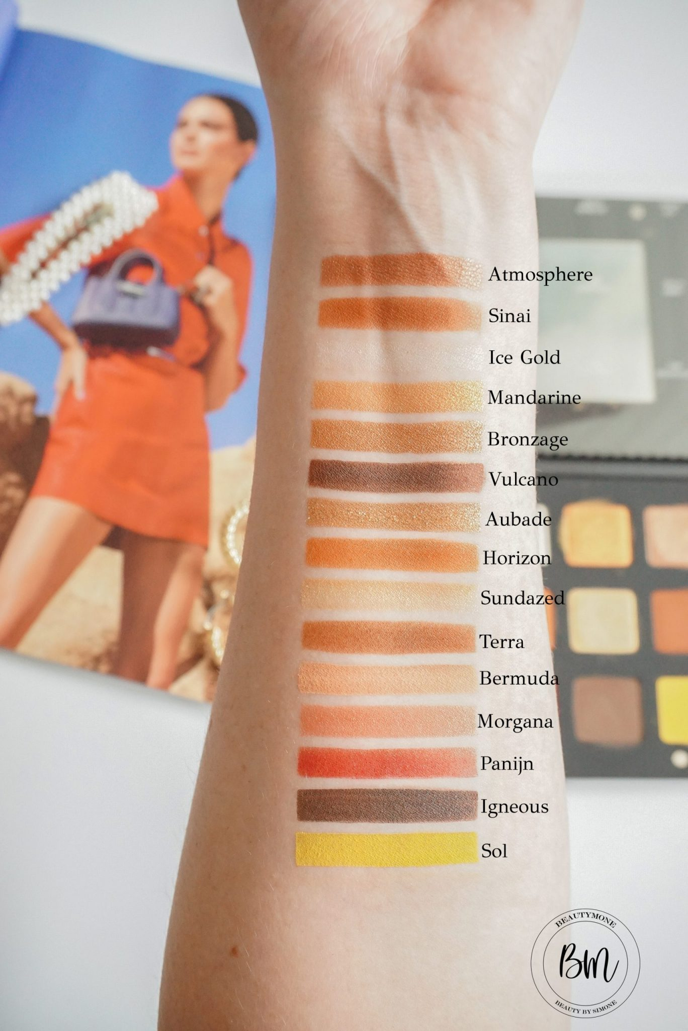 Natasha Denona Sunset Palette Review & Swatches ⋆ Beautymone