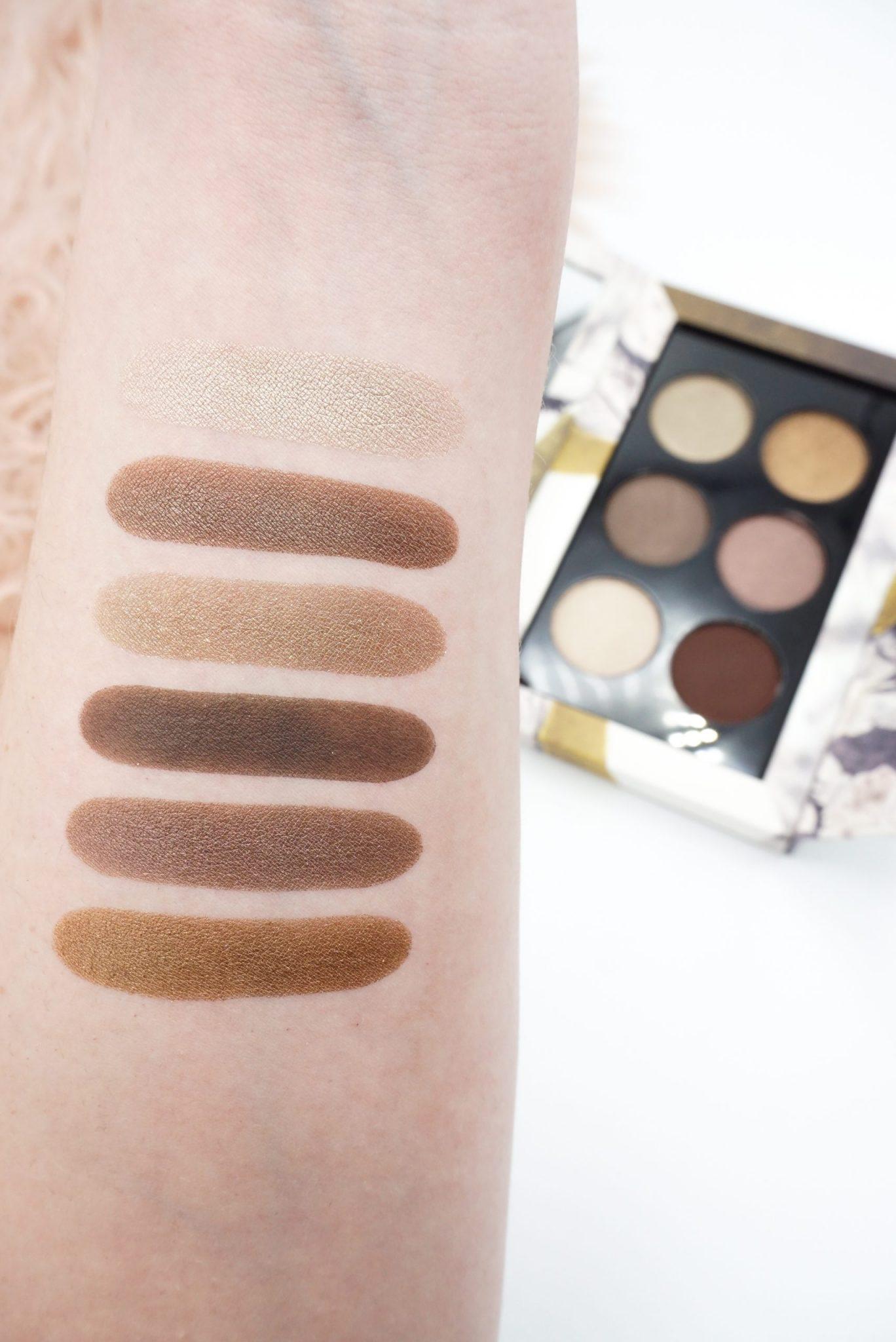 Pat McGrath Labs Subliminal Platinum Bronze 6 Pan Eyeshadow Palette Review ⋆ Beautymone