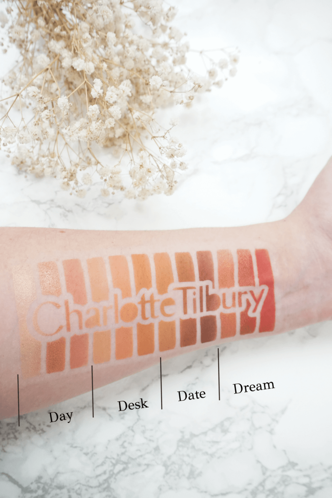 Luxurious Charlotte Tilbury Pillow Talk Eyeshadow Palette Review & Swatches ⋆ Beautymone