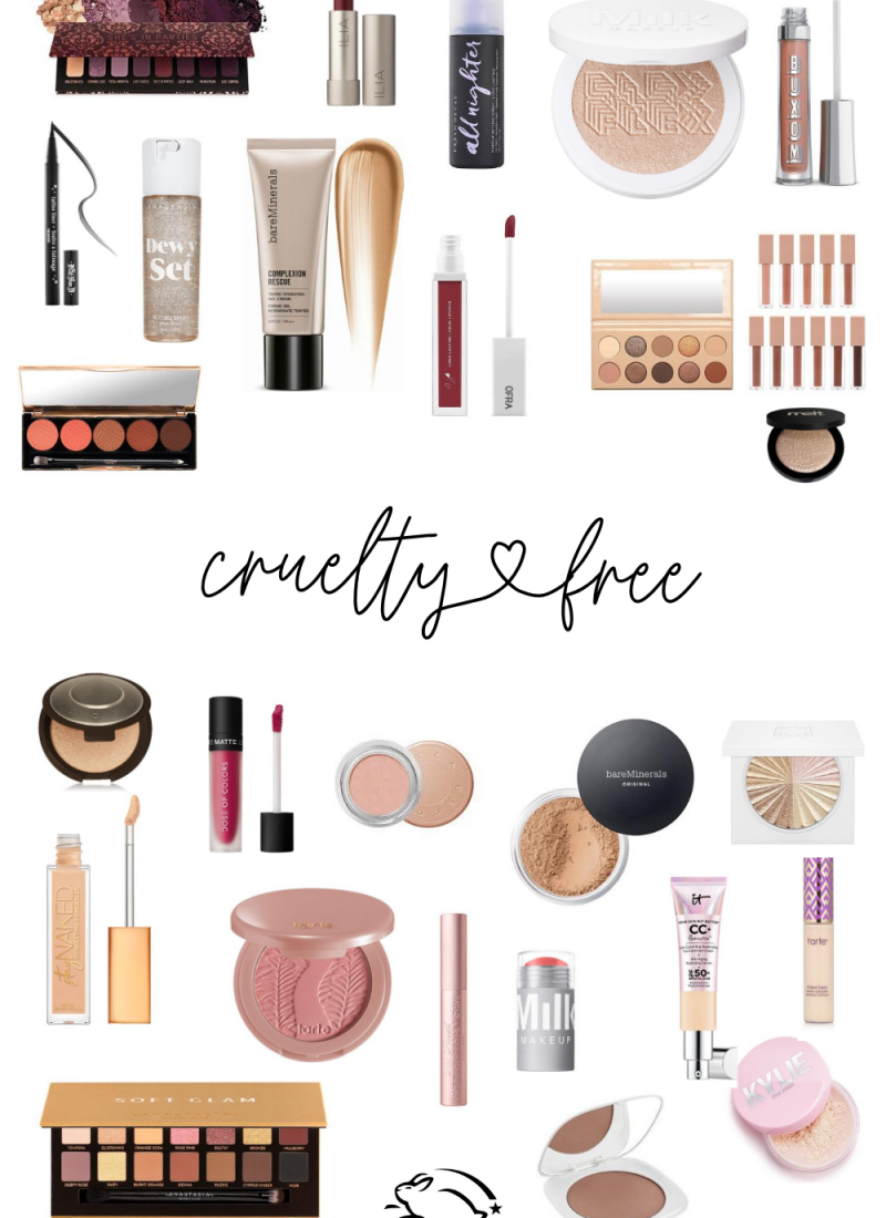 20 Amazing High-End Makeup Brands That Are Cruelty-Free