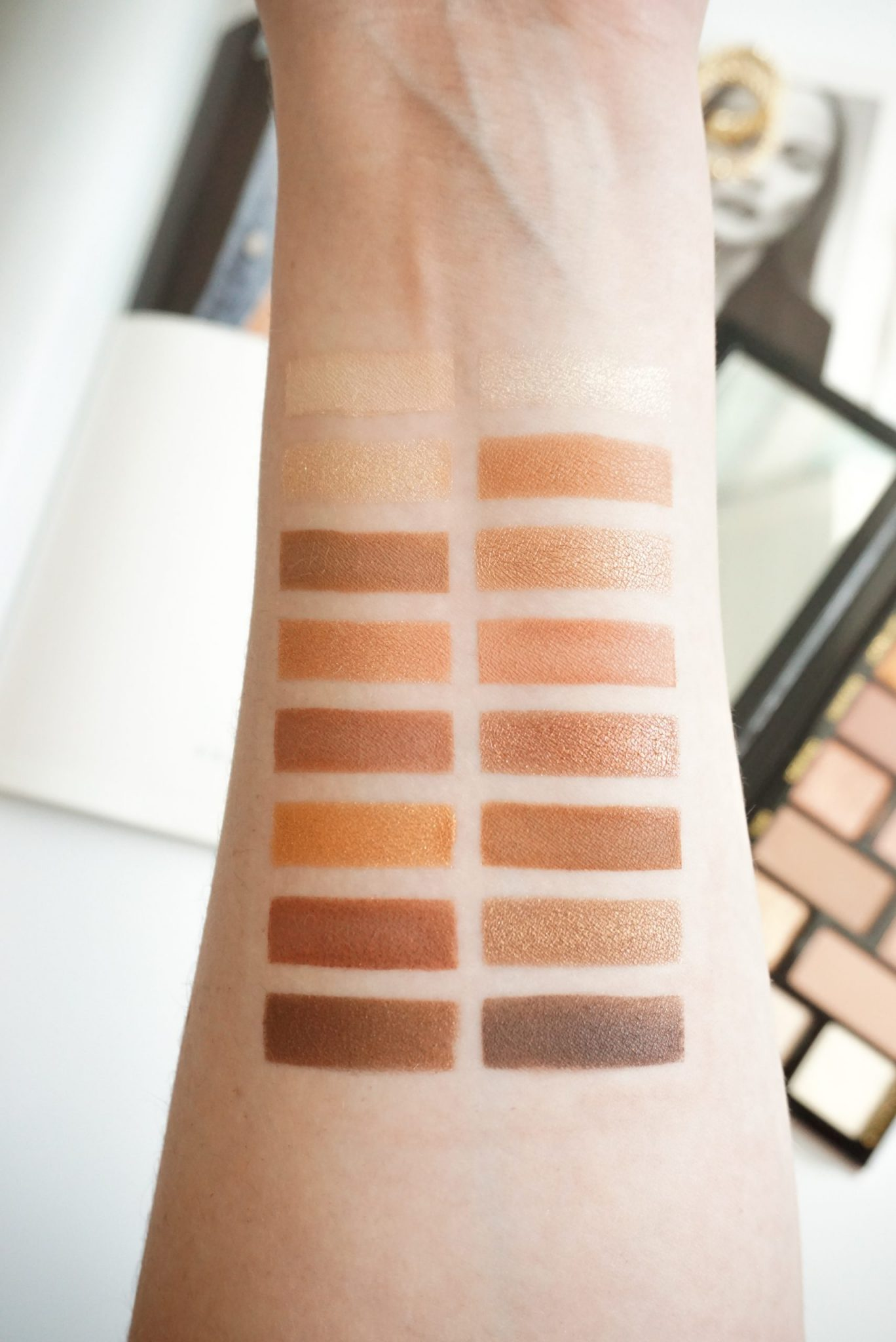 Too Faced Born This Way The Natural Nudes Eyeshadow Palette Review ⋆ Beautymone
