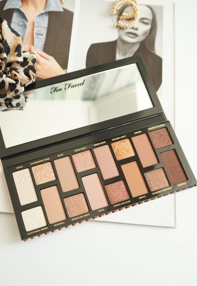 TOO FACED BORN THIS WAY NATURAL NUDES EYESHADOW PALETTE REVIEW
