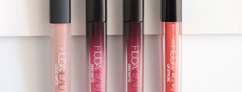 HUDA BEAUTY LIQUID LIPSTICKS REVIEW & SWATCHES