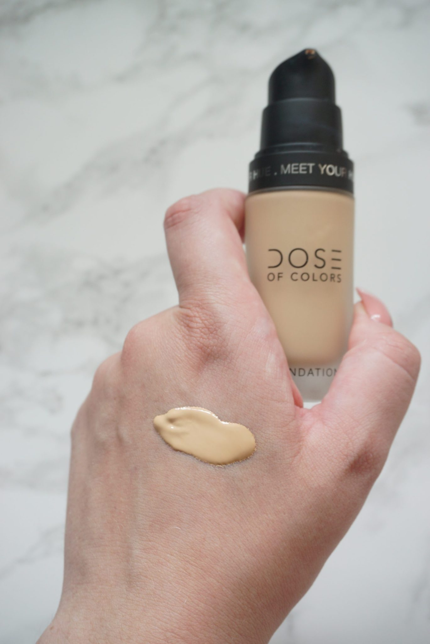 Medium To Full Coverage Meet Your Hue Dose of Colors Foundation Review ⋆ Beautymone