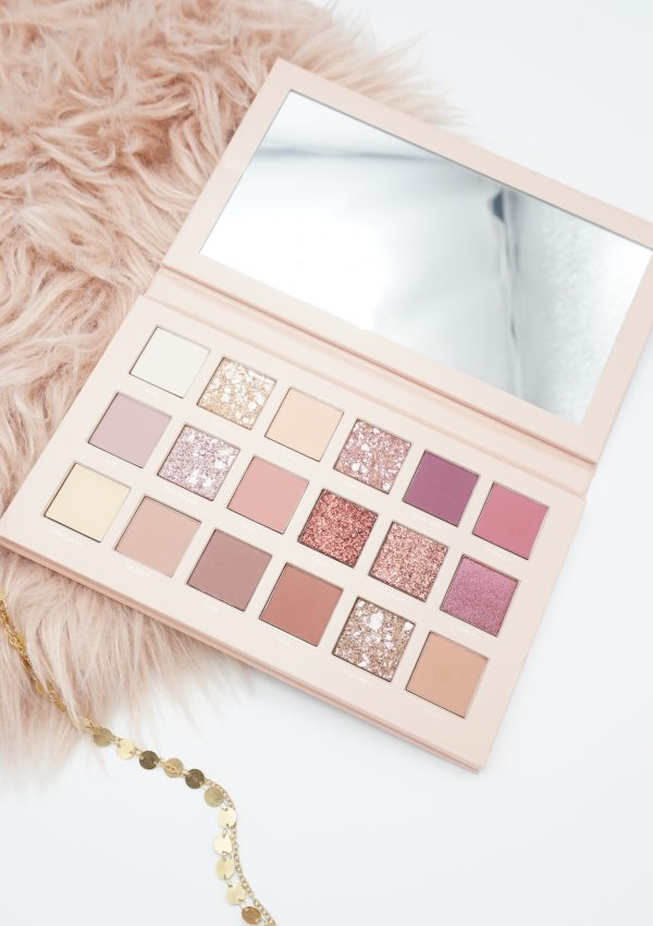 AESTHETICALLY PLEASING HUDA BEAUTY NEW NUDE PALETTE REVIEW