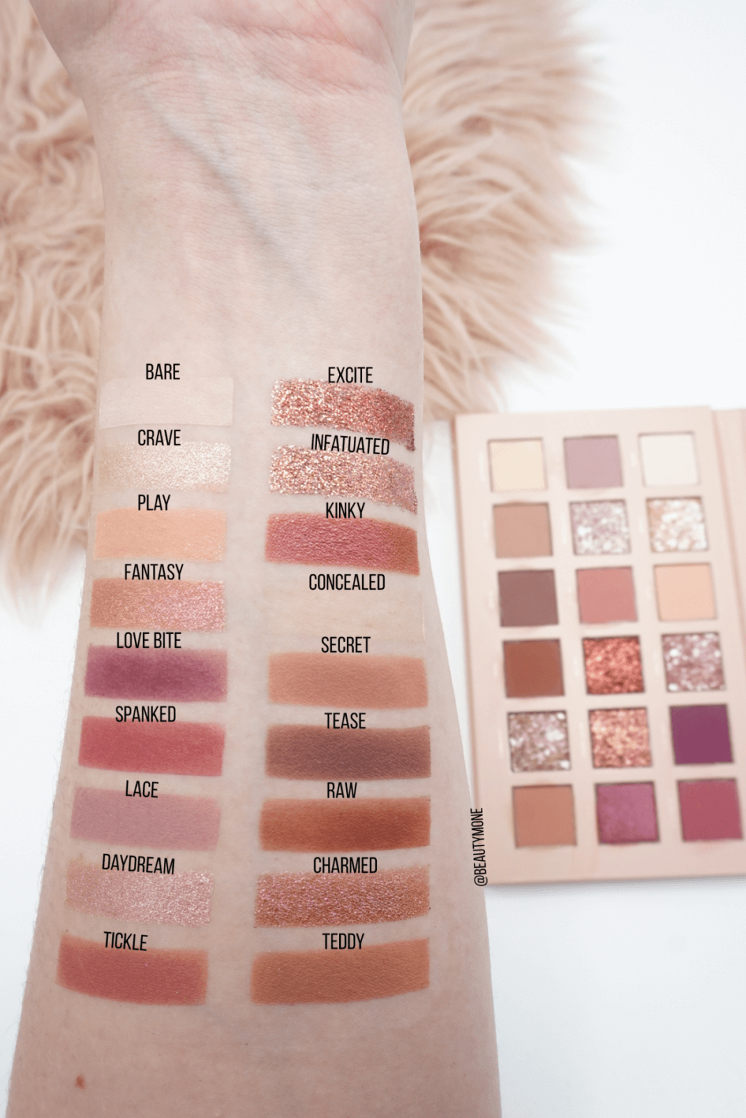 Aesthetically Pleasing Huda Beauty New Nude Palette Review ⋆ Beautymone