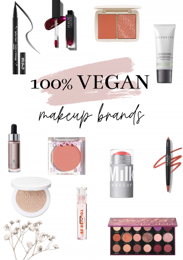 5 Epic High-End and 100% Vegan Makeup Brands