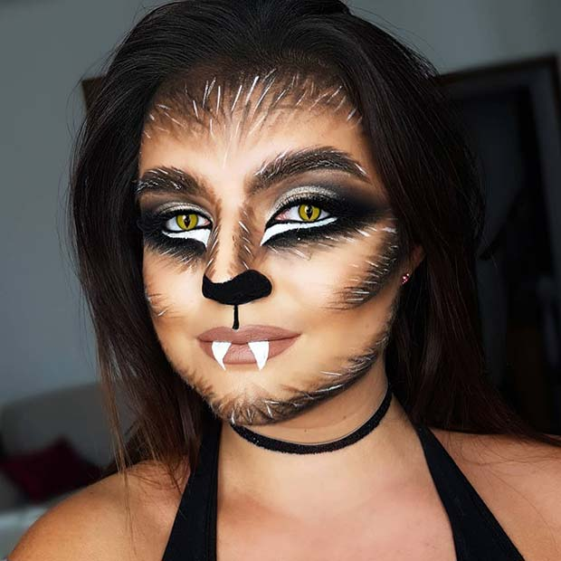 30+ Scary Halloween Makeup, Nails and Costume Ideas ⋆ Beautymone